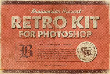Retro Kit for Photoshop