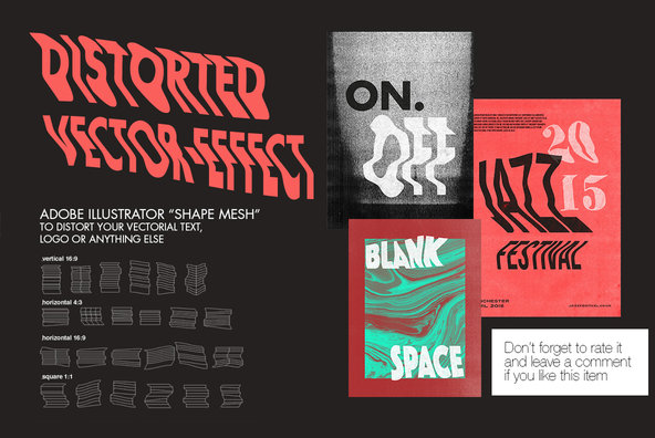 Distorted   Photocopy Vector Effects