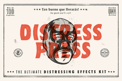 Distress Press The Ultimate Distressing Effects Kit   Tutorial