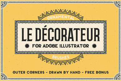 Le Decorateur for Adobe Illustrator