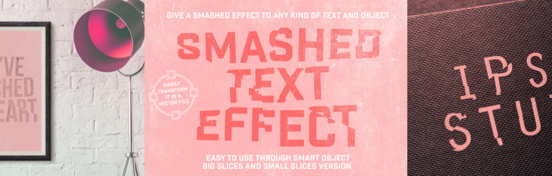 Smashed Text Effect
