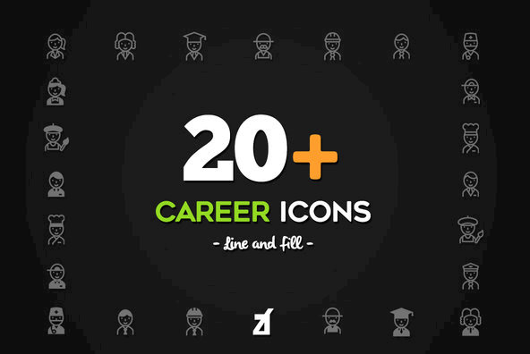 20 Career Icons