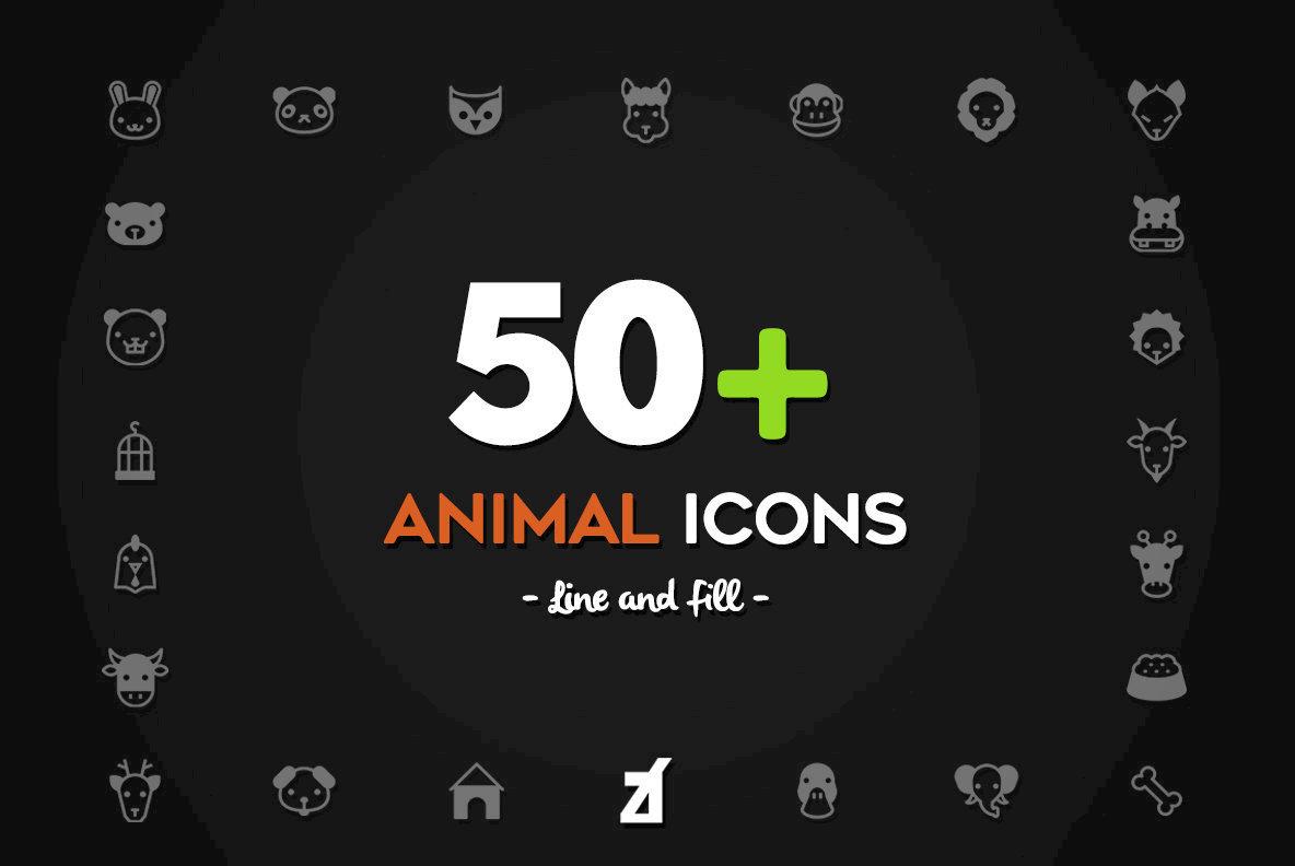 50 Animal Icons