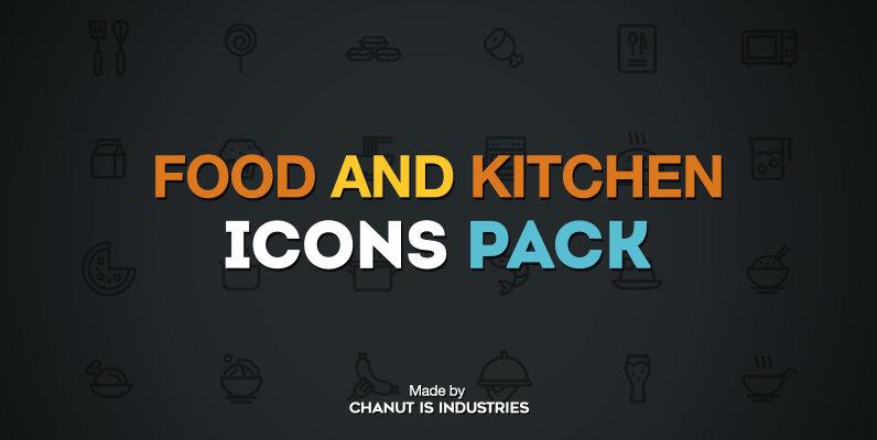 75 Food Icons