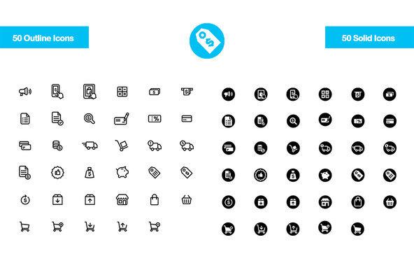 35 E Commerce Icons