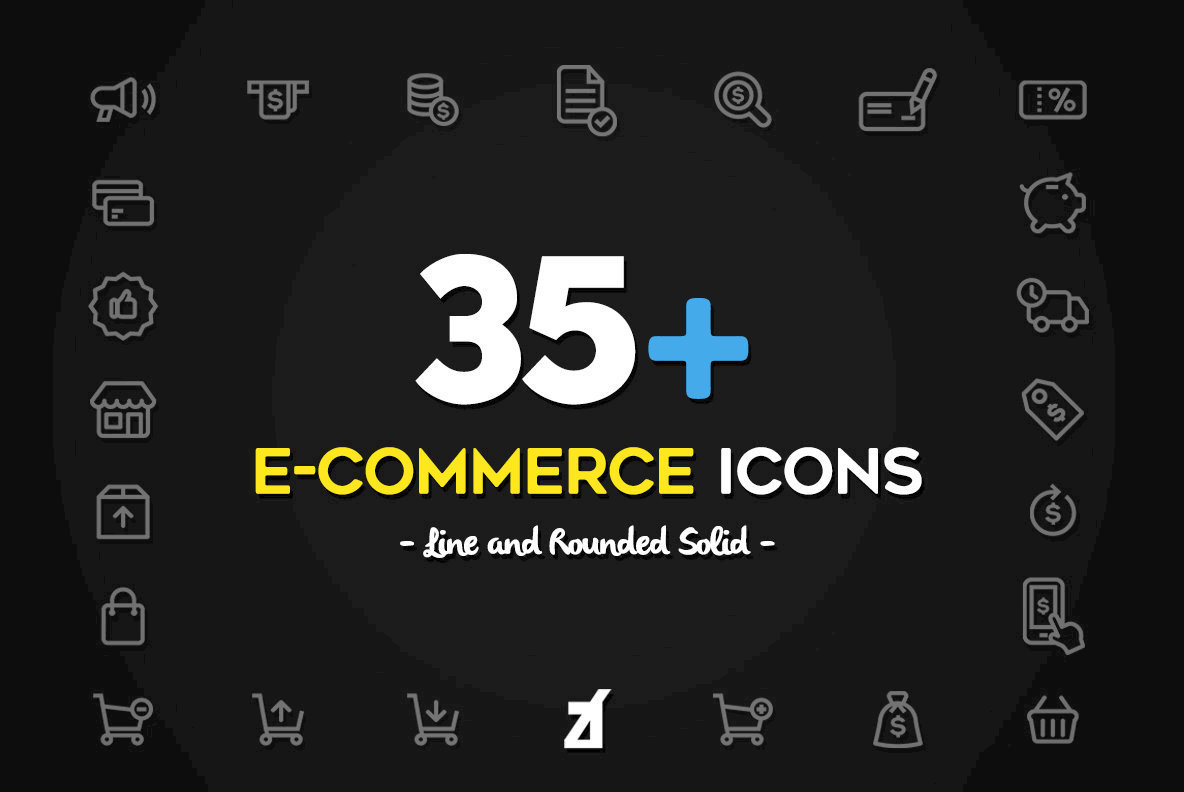 35 E Commerce Icons