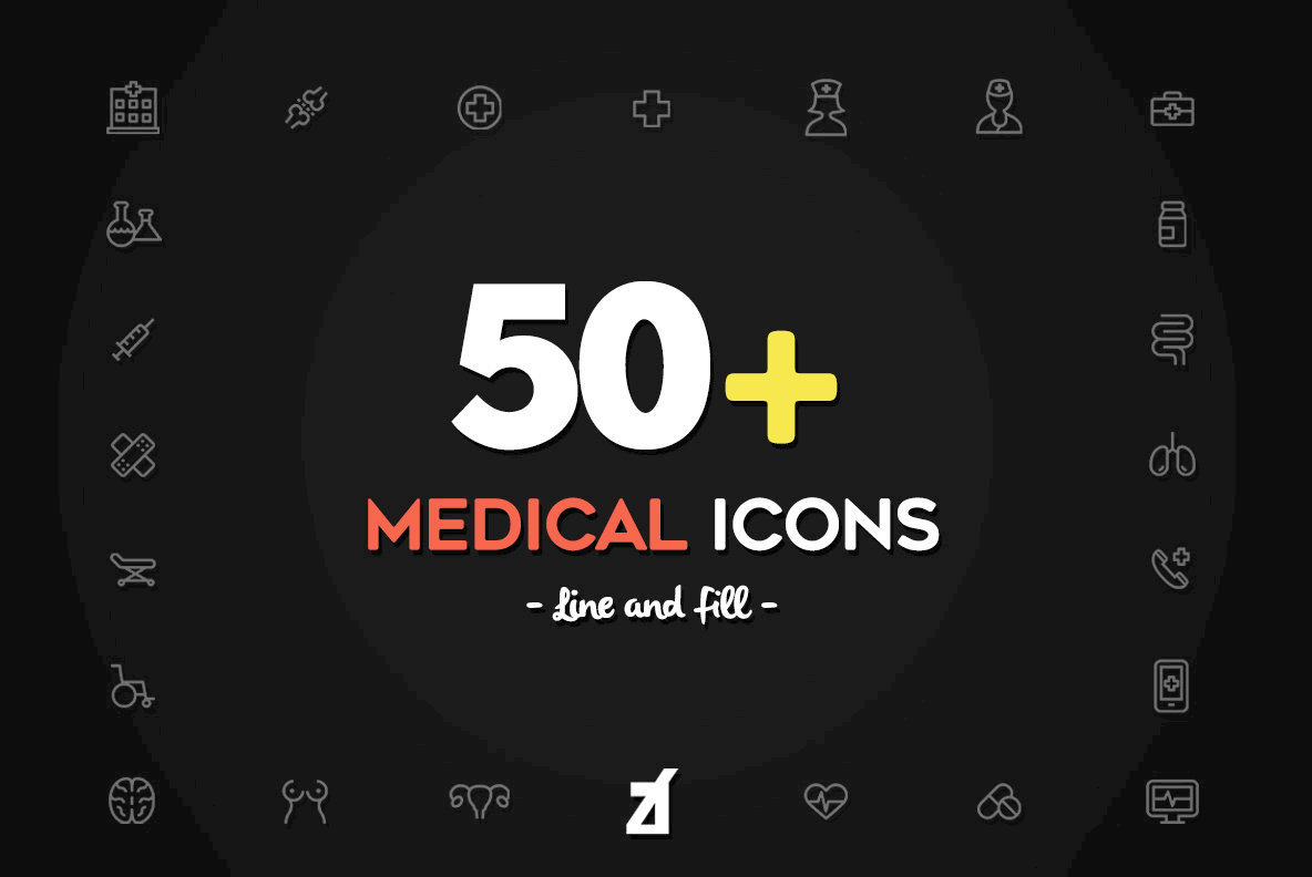 50 Medical Icons