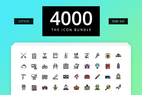 The Icon Bundle 4000