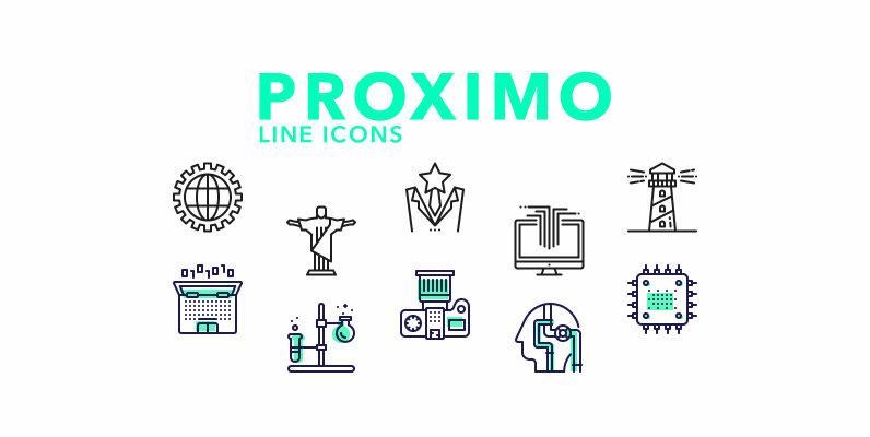 Proximo Line Icons