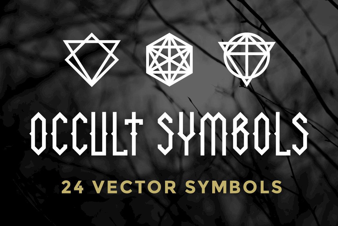 24 Occult Symbols