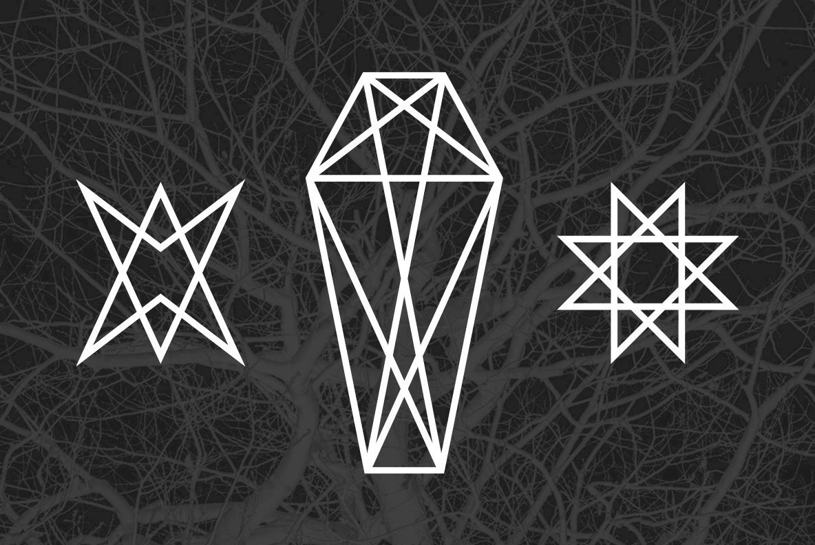 24 Occult Symbols Graphics Youworkforthem