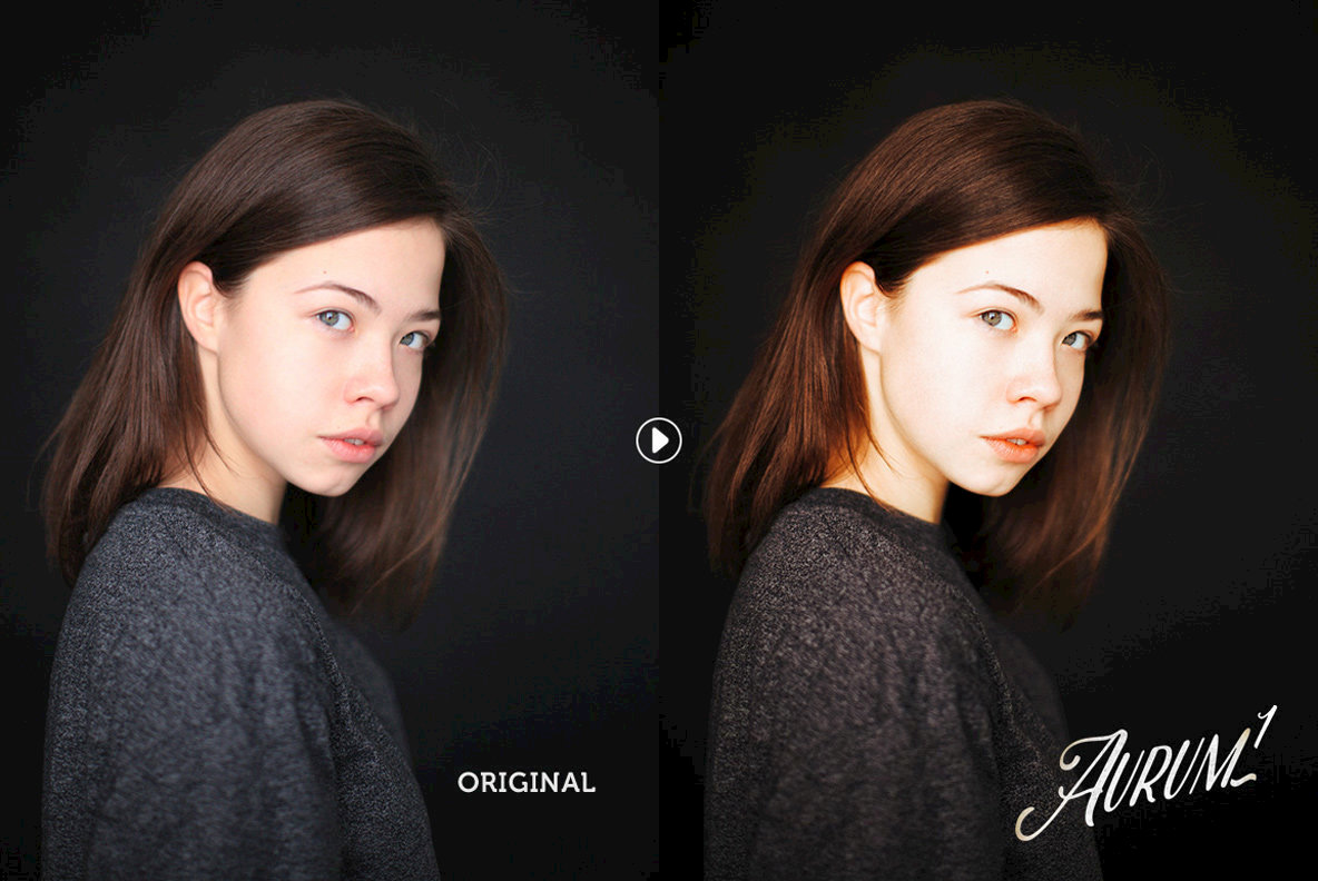Aurum Portrait Lightroom Presets