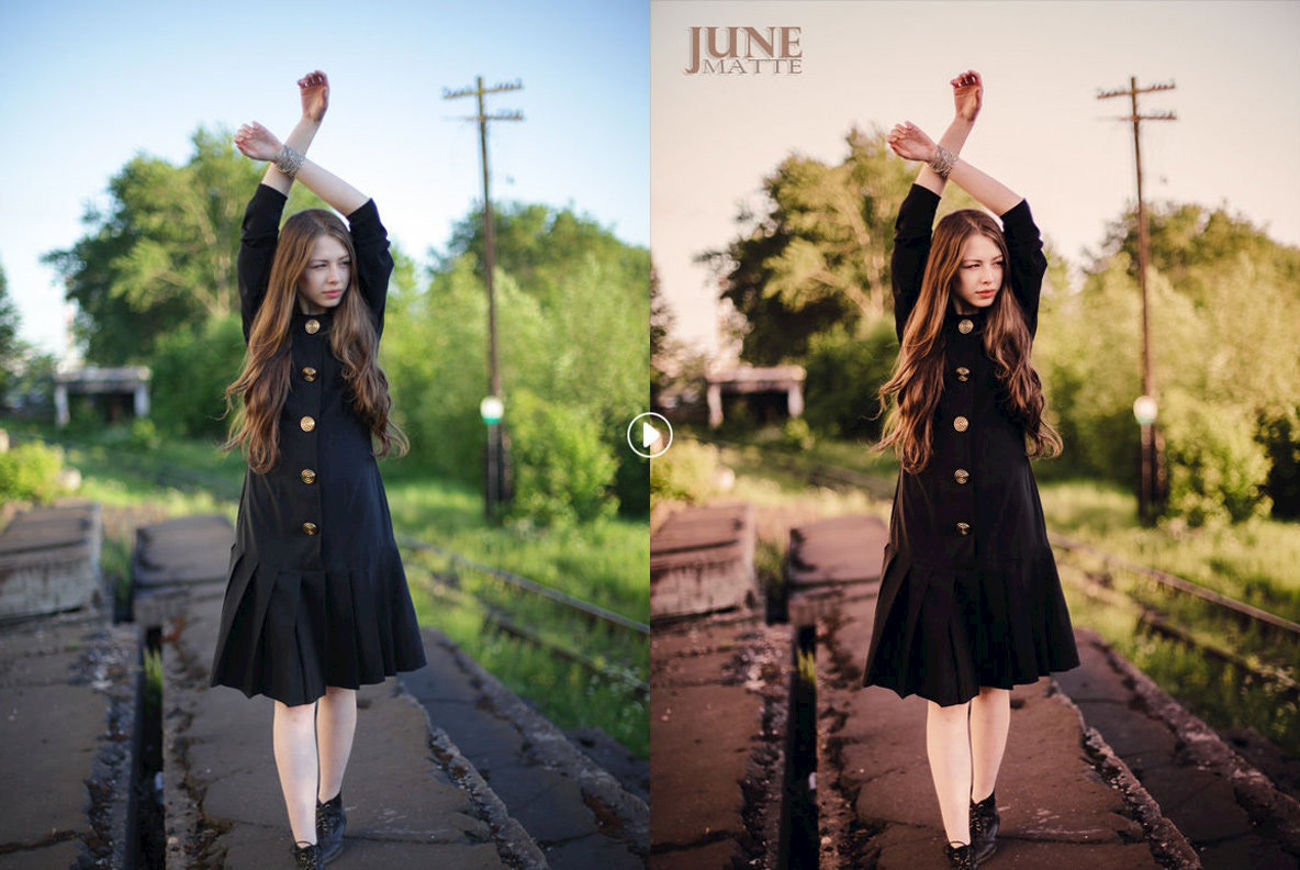 June Matte Lightroom Presets