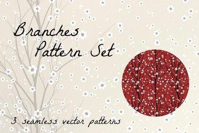 Branches Pattern Set