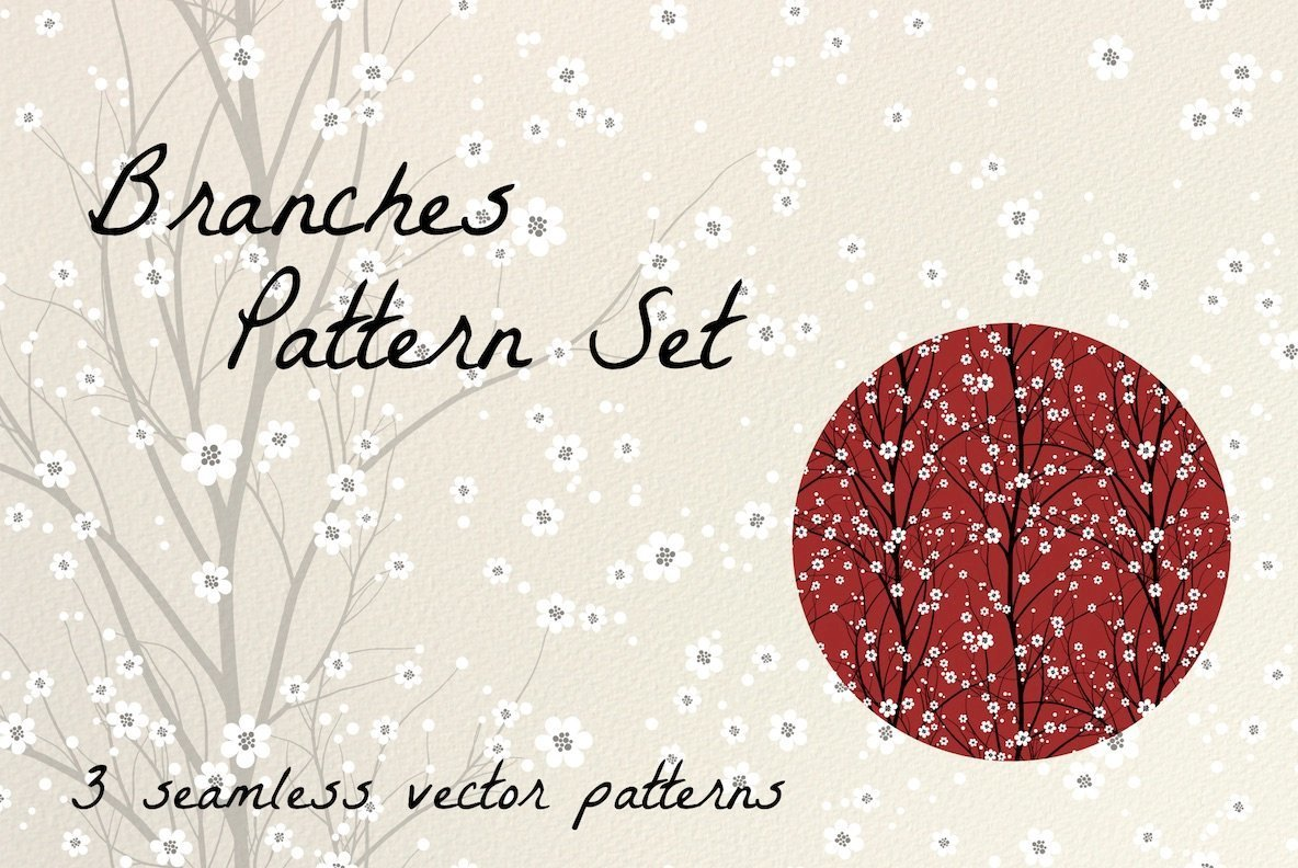 Branches Pattern Set