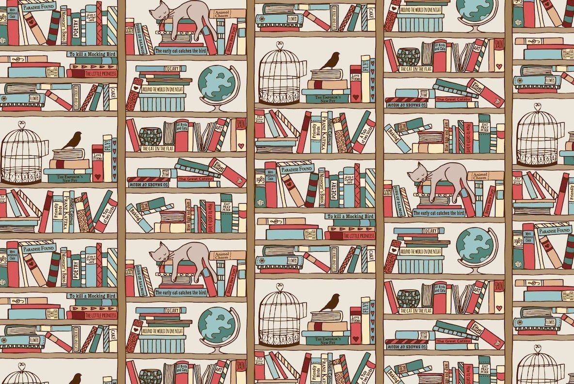 Library   3 Seamless Patterns
