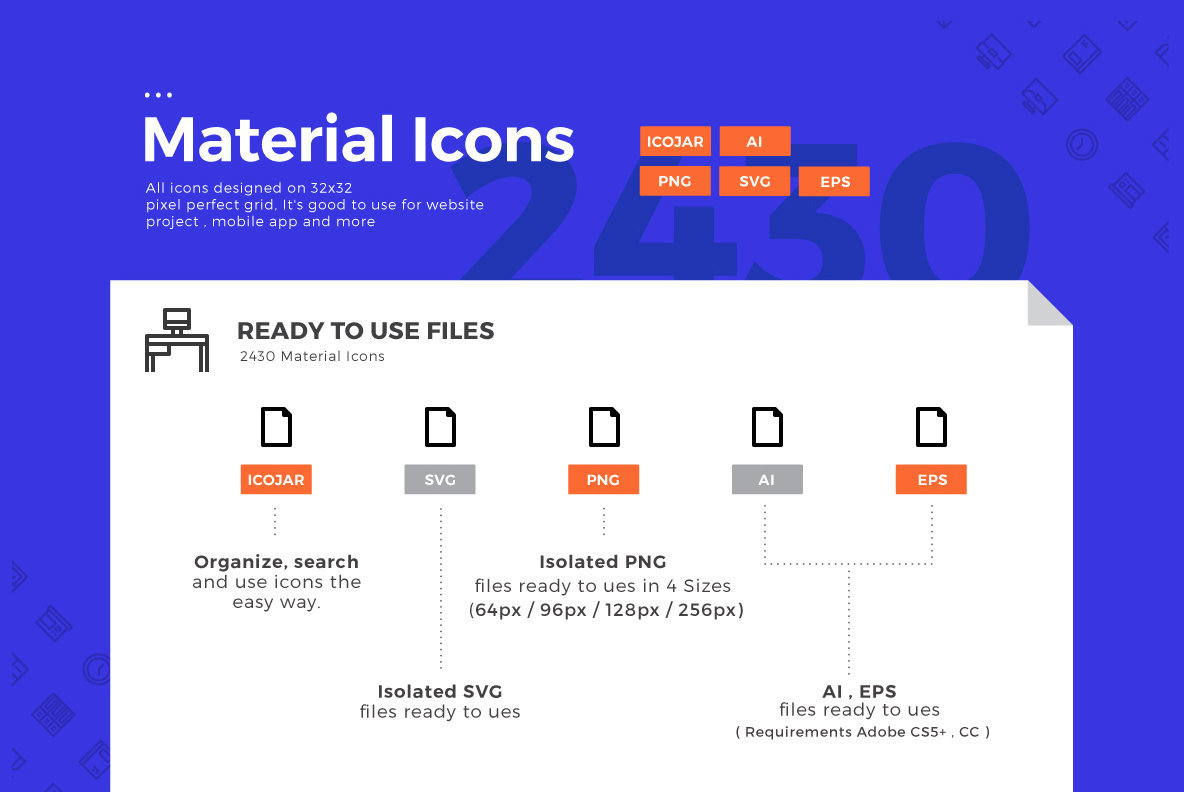 2430 Material Icons