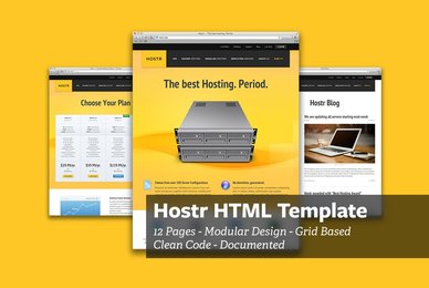 Hostr   HTML Template