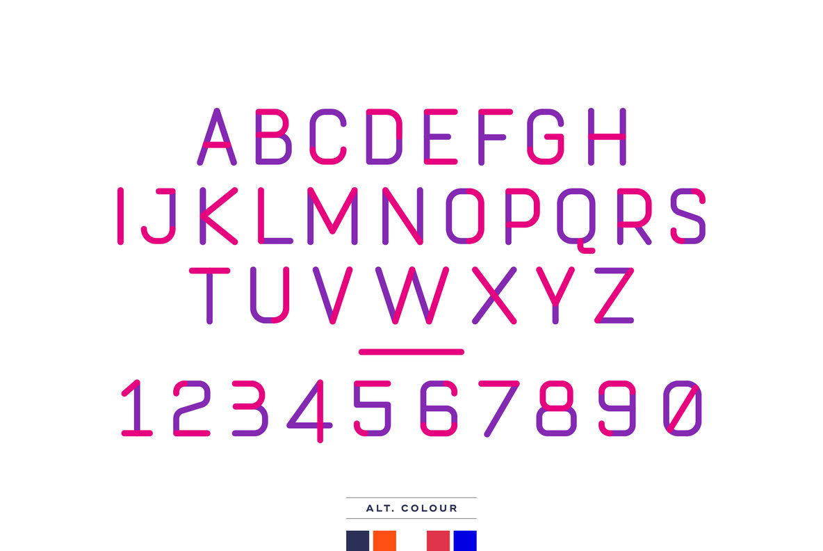 Compact Handset Typeface