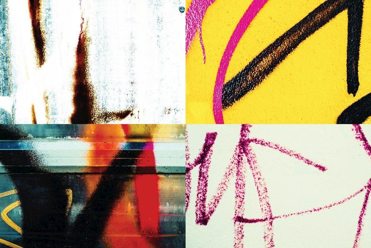 Graffiti Texture Bundle 02