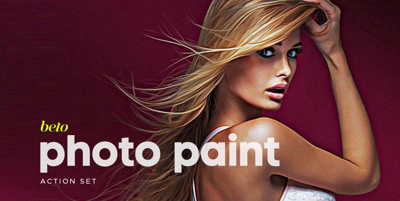 Photo Paint Action