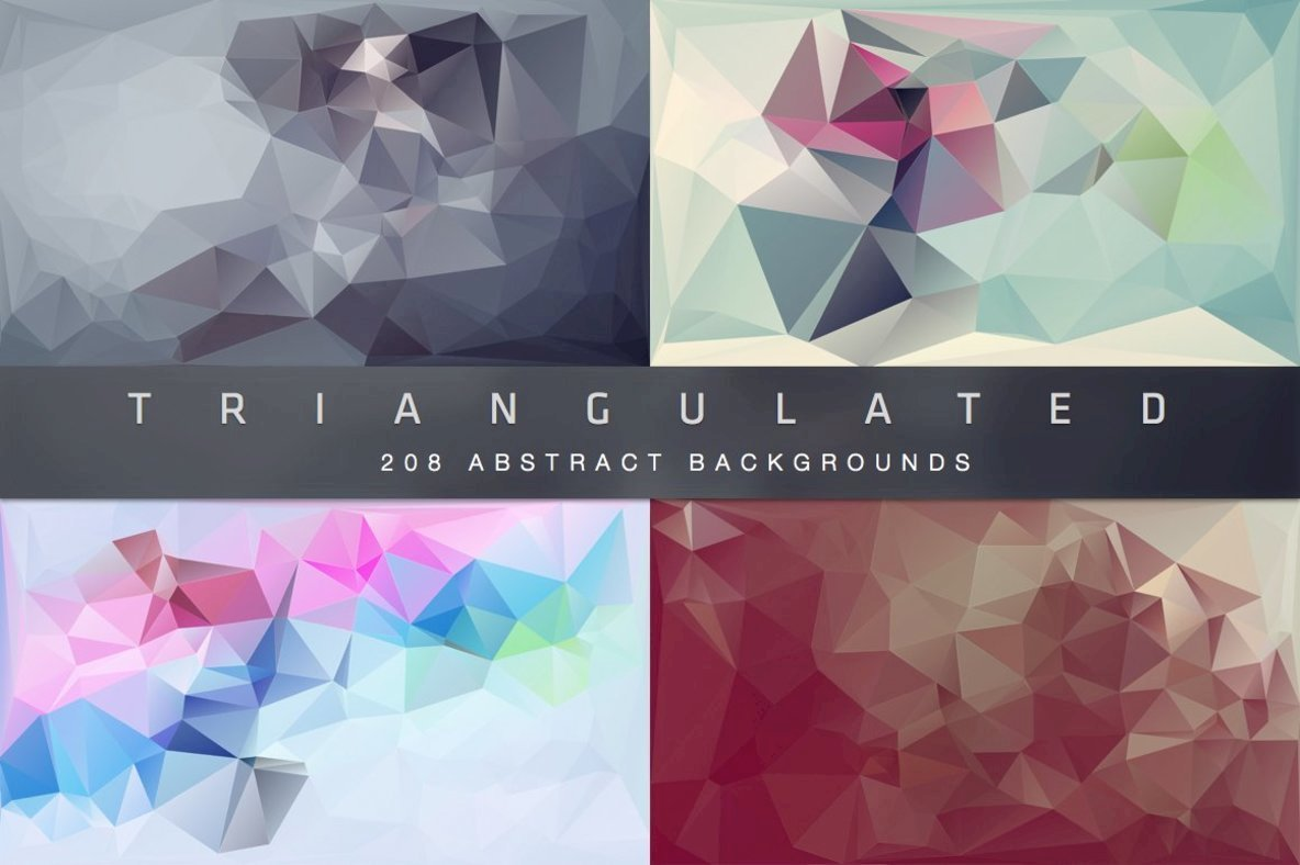 Triangulated   Abstract Backgrounds