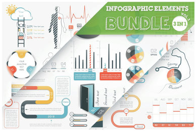 Infographic Elements Bundle V3