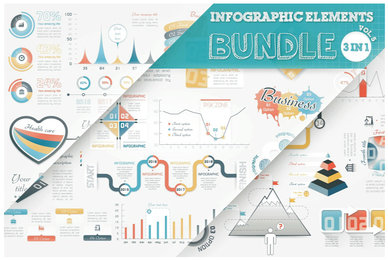 Infographic Elements Bundle V5