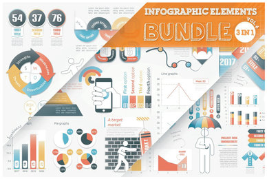 Infographic Elements Bundle V6