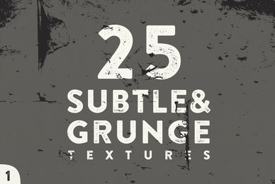 25 Grunge and Subtle Vector Textures