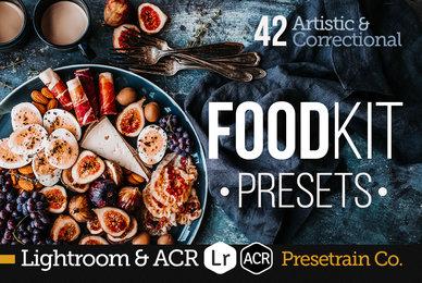 FoodKit   Food Presets for Lightroom  ACR