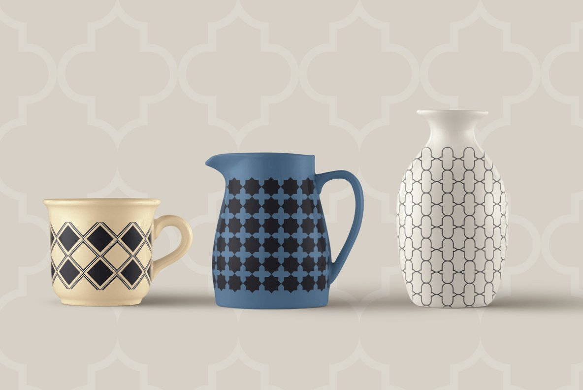 Moroccan Seamless patterns vol1
