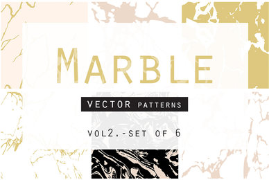 Marble Seamless Vector Patterns   2