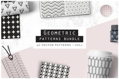 Geometric Patterns Bundle V1