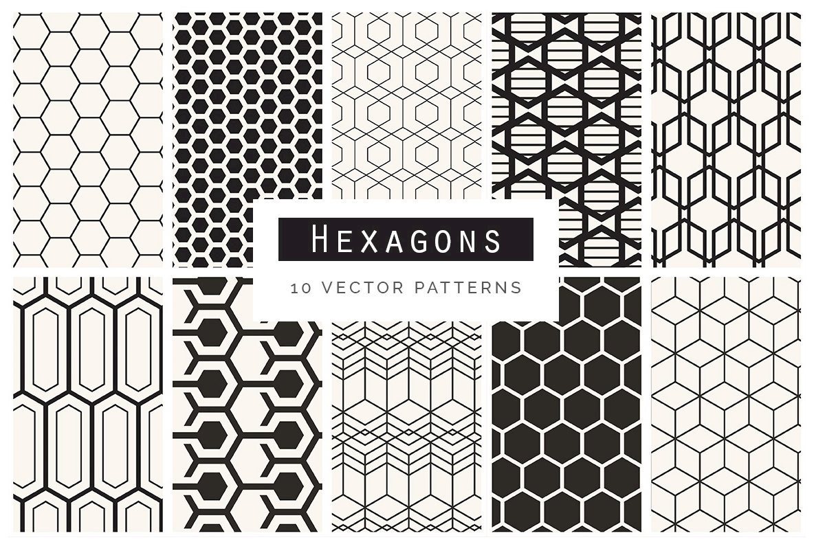 Geometric Patterns Bundle V1