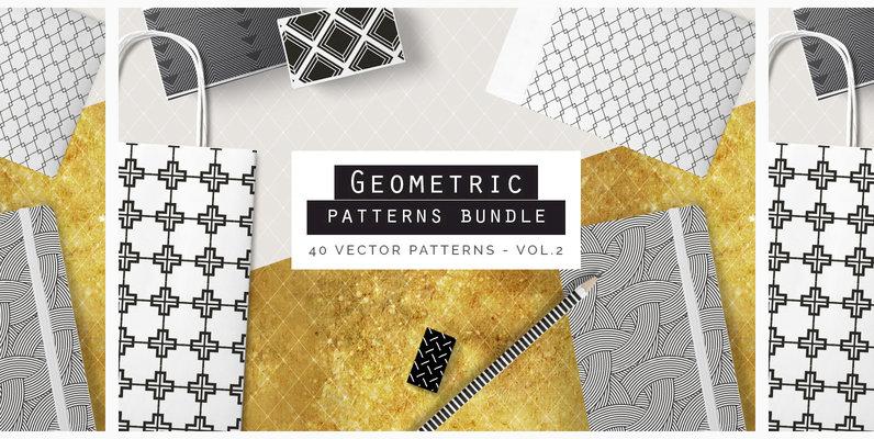Geometric Patterns Bundle V2