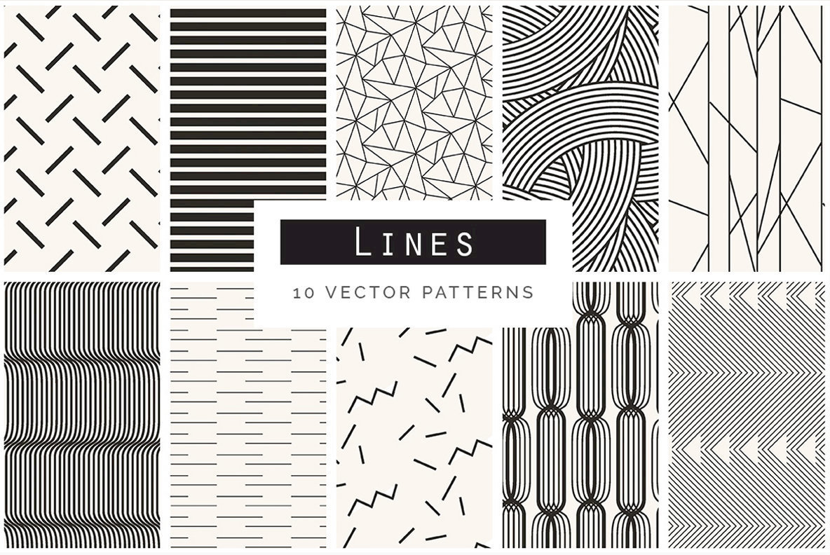 Geometric Patterns Bundle V2
