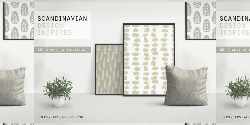 40 Scandinavian Patterns