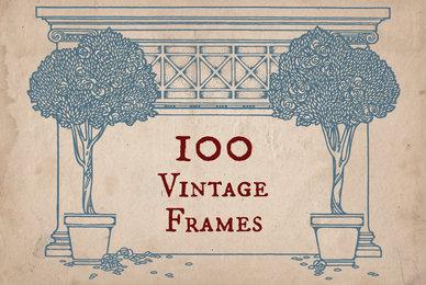100 Vintage Frames