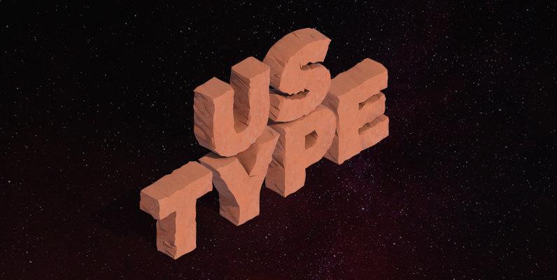 Ustype Isometric