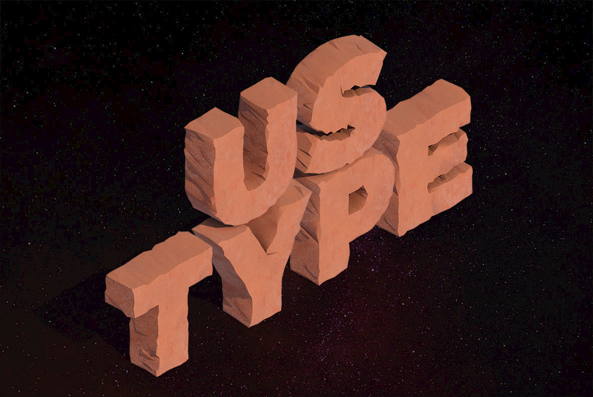 Ustype Isometric