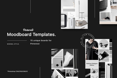 15 Pinterest Mood Board Templates