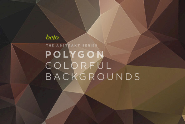 Polygon Abstract Backgrounds 01