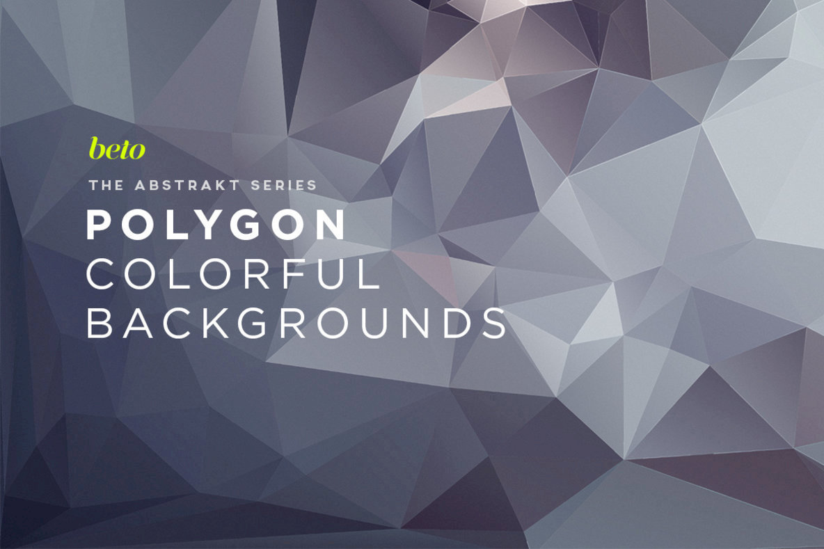 Polygon Abstract Backgrounds 02