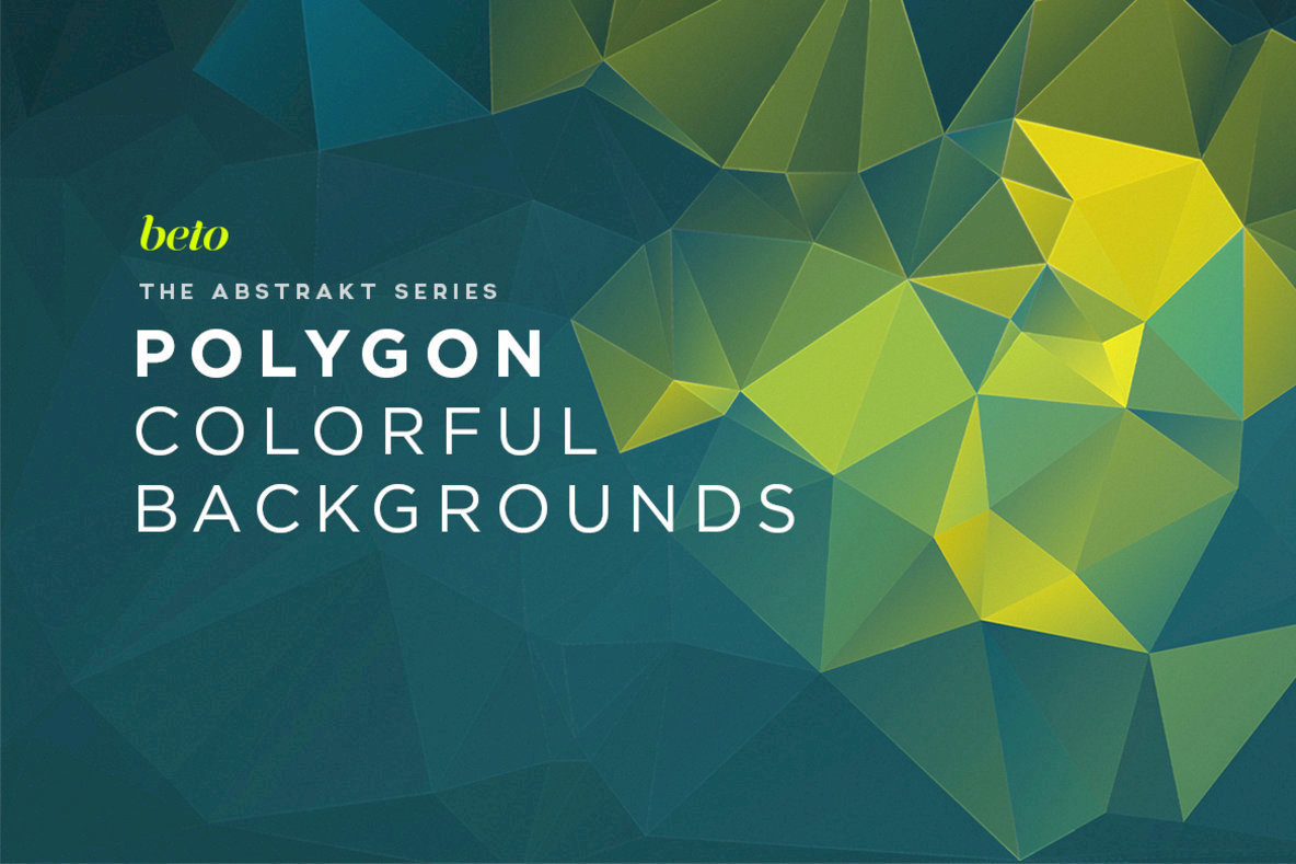 Polygon Abstract Backgrounds  03