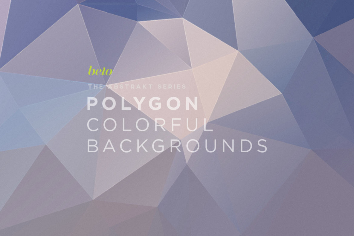 Polygon Abstract Backgrounds 04