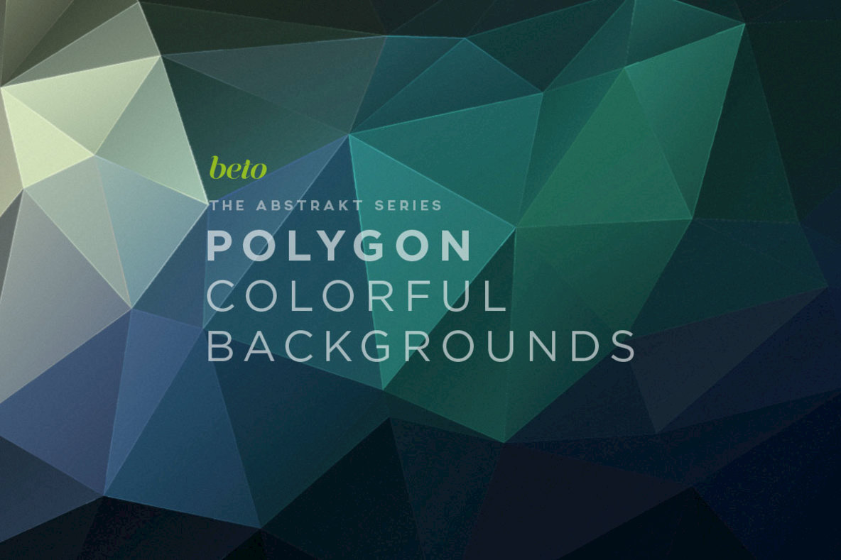 Polygon Abstract Backgrounds 06