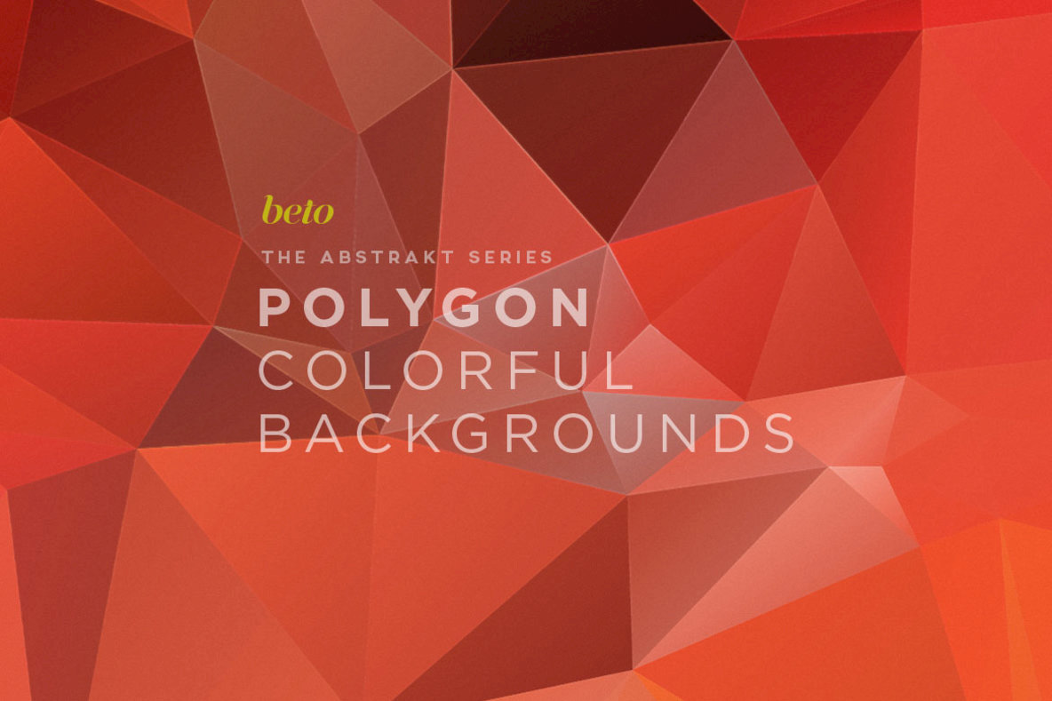 Polygon Abstract Backgrounds 07