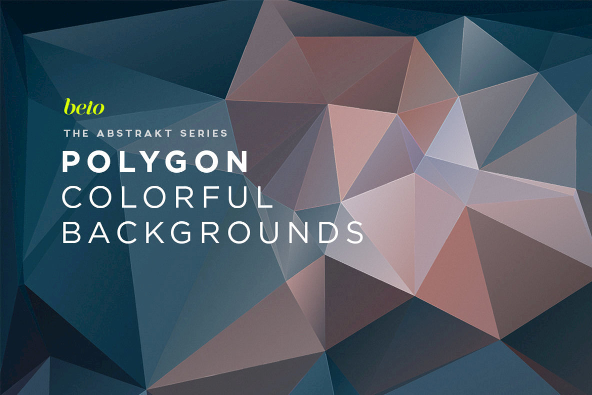Polygon Abstract Backgrounds 08