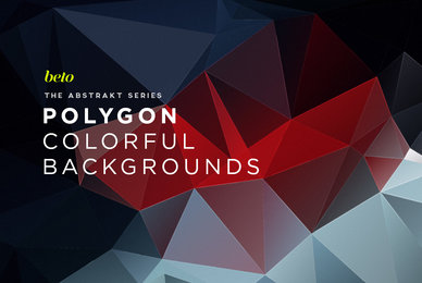 Polygon Abstract Backgrounds 09